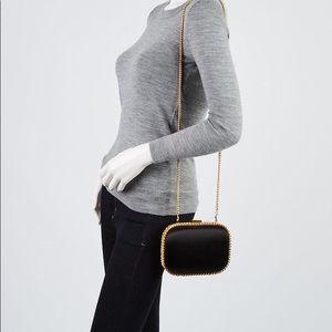 66a500b7fcad Stella McCartney Bags - Stella McCartney Black Falabella Satin Clutch